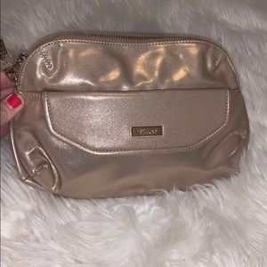 NEW Versace Clutch Cosmetic bag gold sparkly